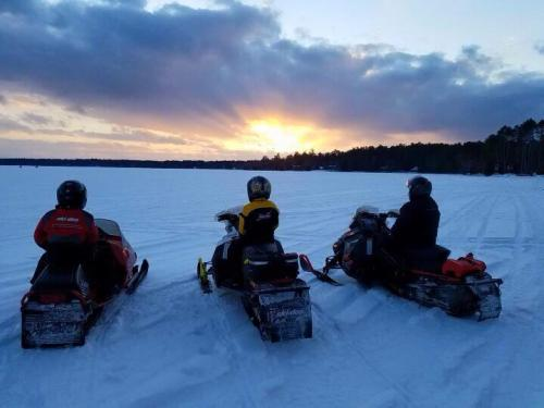 winter snowmobiles